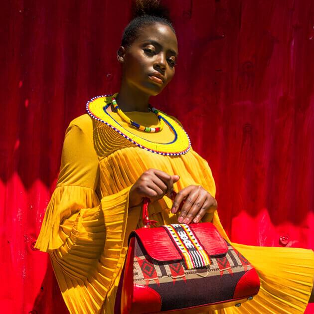 Ethnik handbag photo