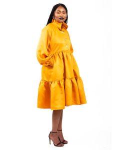 Khanyo Dress-XS-Mustard