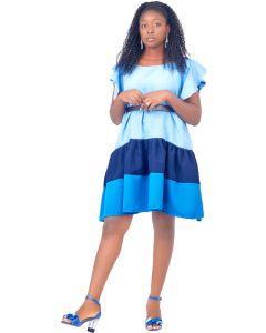 Blue Short Gown