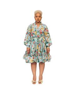 Floral Print Play Dress