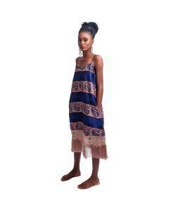 Fringe Bottom Slip Dress