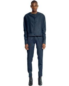 The Izon Cropped Shirt Jacket Set 1.0