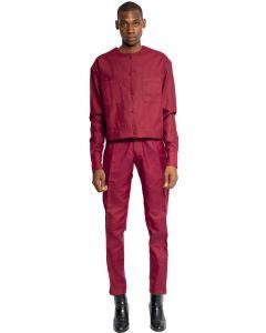 The Izon Cropped Shirt Jacket Set 2.0