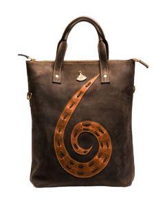 Kharetsi Leather Laptop Bag