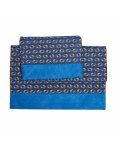 Laptop cover + Pouch Blue - 15''