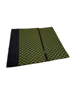 Laptop cover + pouch Black/Green - 13''