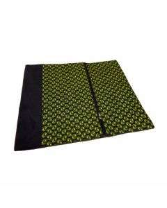 Laptop cover + pouch Black/Green - 15''