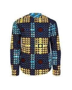 BOYS ANKARA PRINT SHIT - MULTICOLOR