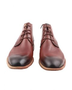 METAL Dress Boot (Brown 2-toned Leather)