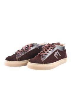 METAL E-sneakers (Suede Brown)