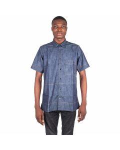 Collared Denim Shirt