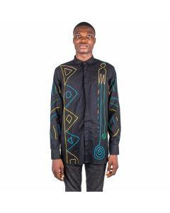 African Woven Shirt