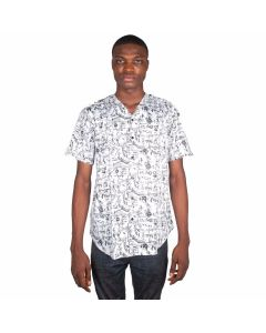 V-Neck Print Shirt