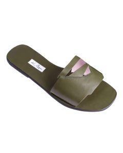 Nia-Shoe Size UK 3-Olive Green