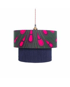 Ohemaa Pink Peacock test Lampshade