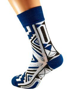 Royal Xhosa Blue Socks