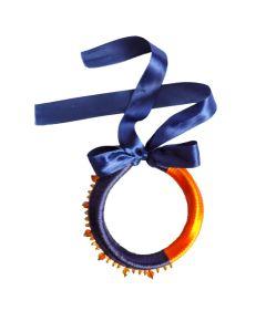 Sapphire Thic Neckpiece