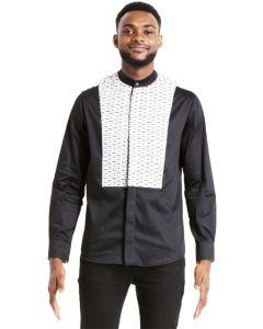 Shujaa Black Shield Shirt