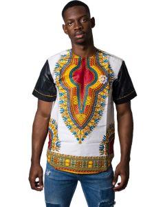 Mens - Dashiki B-Sleeve T-Shirt