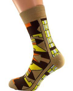 Zulu Earthtone Socks
